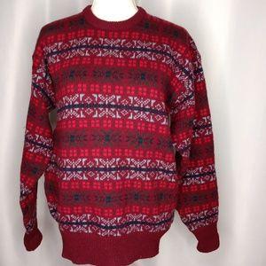 The Man's Shop LORD + TAYLOR Wool Sweater Sz L